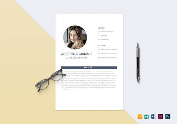 minimal-automobile-resume-template