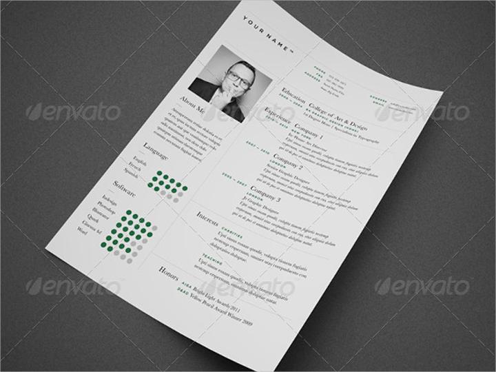 minimal-resume