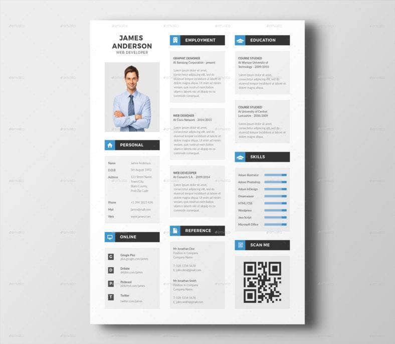 modern-indesign-resume