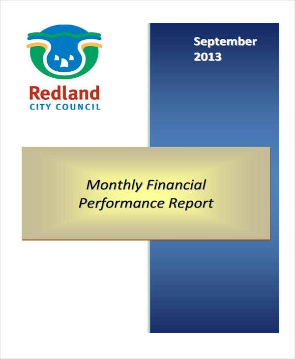 monthly financial performance report3