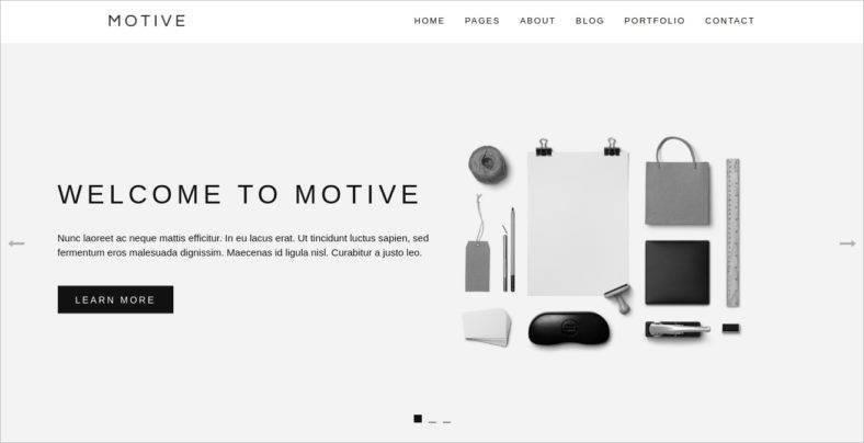 motive-minimal-portfolio-theme