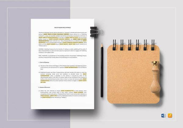 music-publishing-contract-template