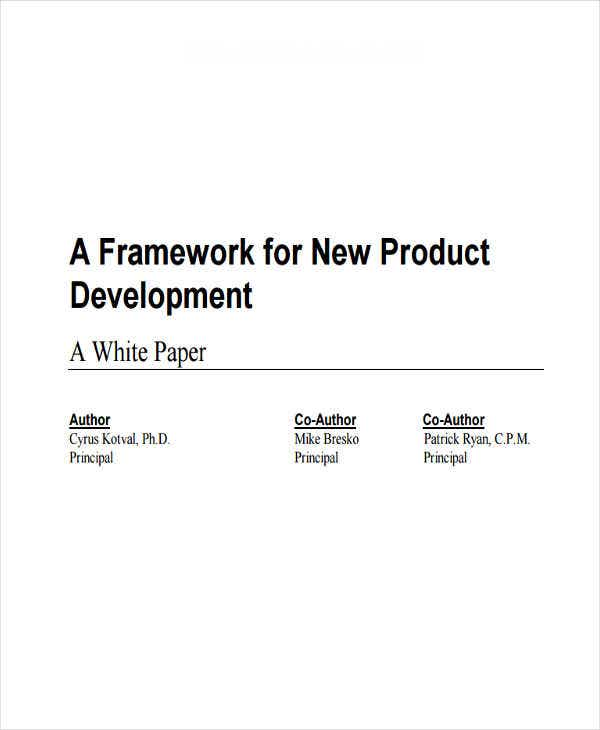 new product white paper1