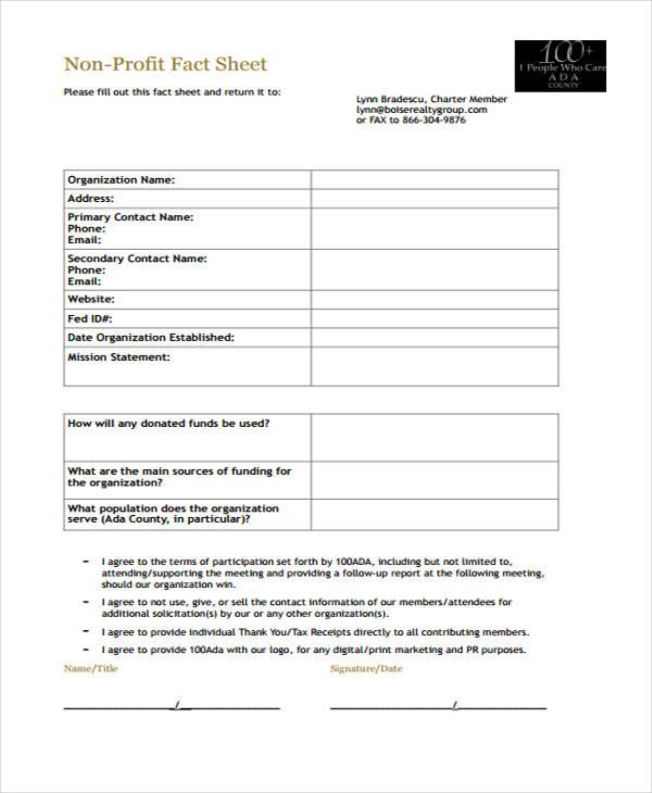 39 Sheet Examples | Free & Premium Templates