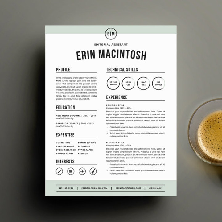 an in depth guide to resumes free premium templates