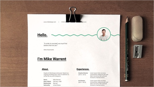 What Are The Types Of Non Traditional Resumes