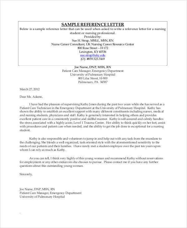 Employment reference letter for university spiritdancerdesigns Choice Image
