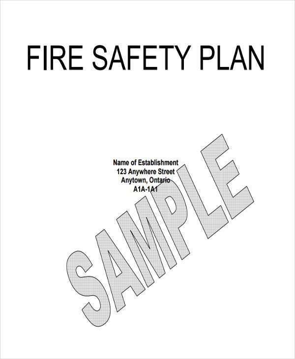 office fire safety plan