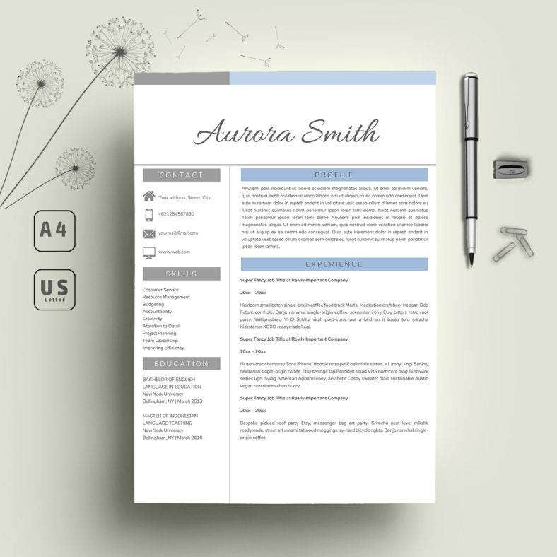 one-page-resume