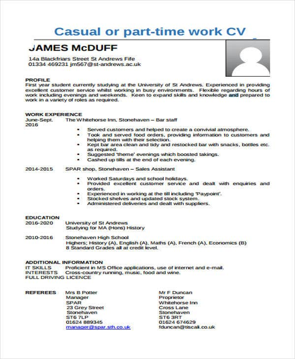 26+ Free Work Resume Templates - Free Word, Pdf Documents Download