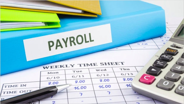 payroll sheet templates