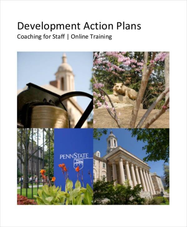 performance development action plan