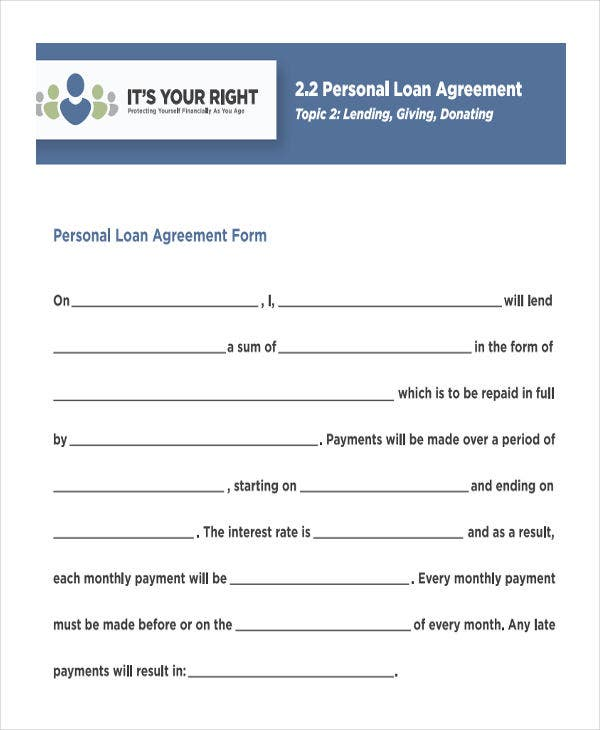 34+ Simple Agreement Forms | Free & Premium Templates