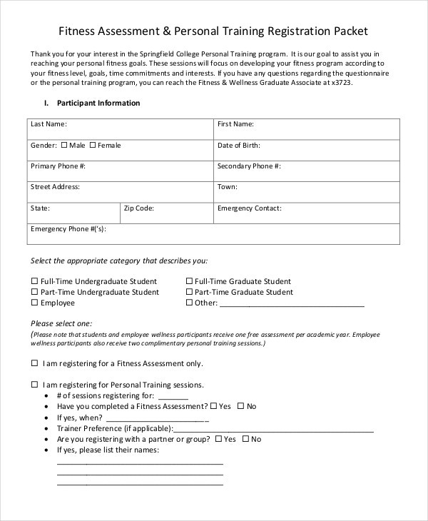 Assessment Forms In Pdf  Free  Premium Templates