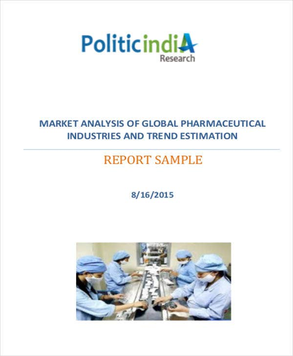 pharmaceutical product market analysis