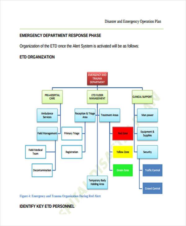 plan for internal disaster