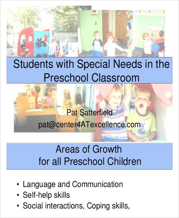 9 Printable Preschool Lesson Plan Templates Free Sample Example