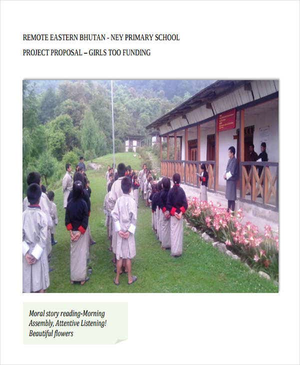 primary school project proposal1