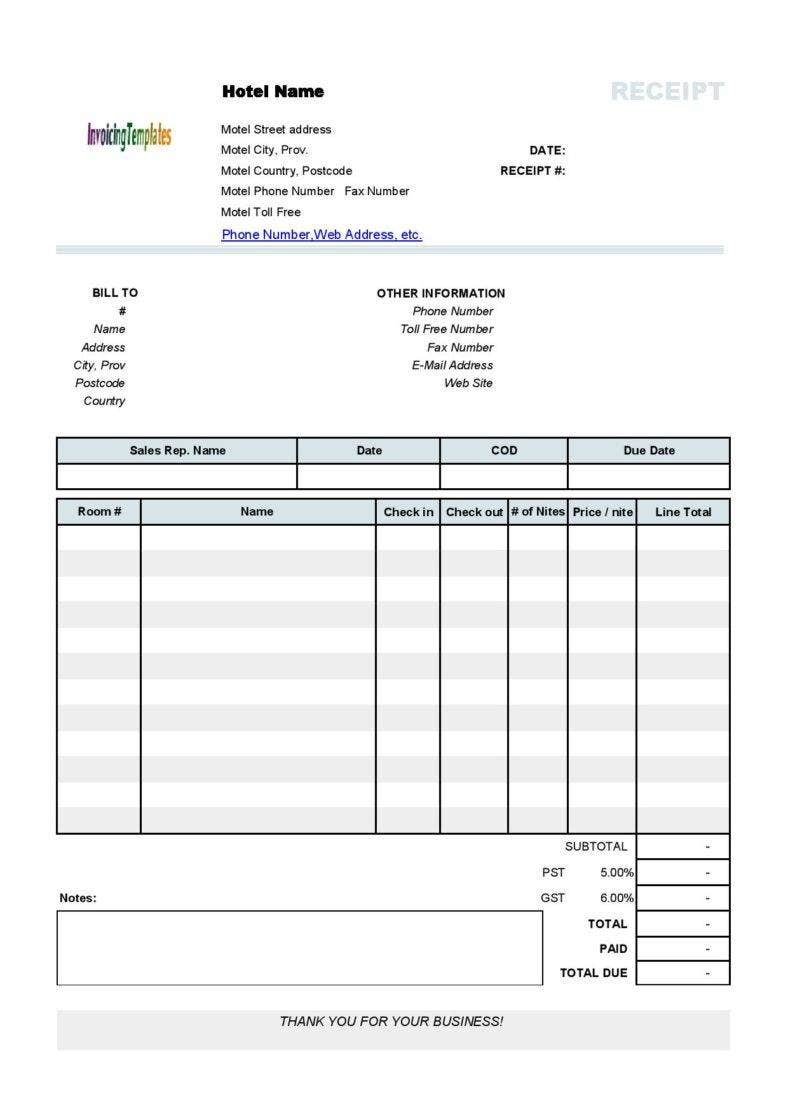 10  business receipt templates to use