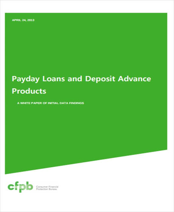 product loan white paper