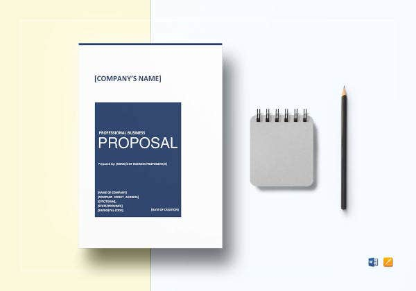 professional business proposal template2