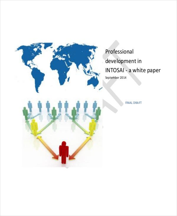 professional development white paper