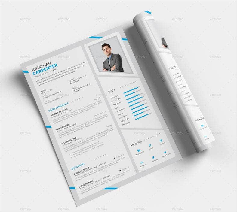 professional-psd-resume