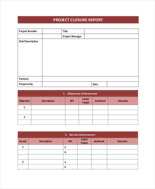 Project Report Templates  Free  Premium Templates