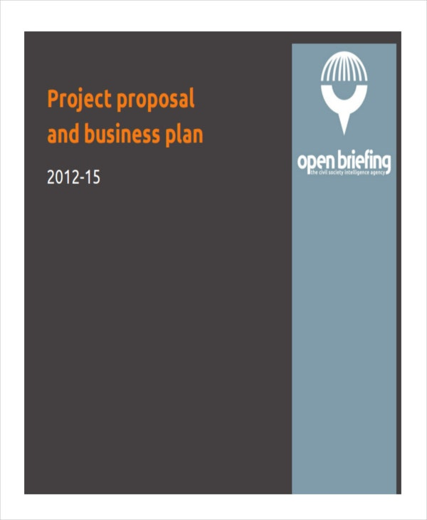 project proposal for business plan
