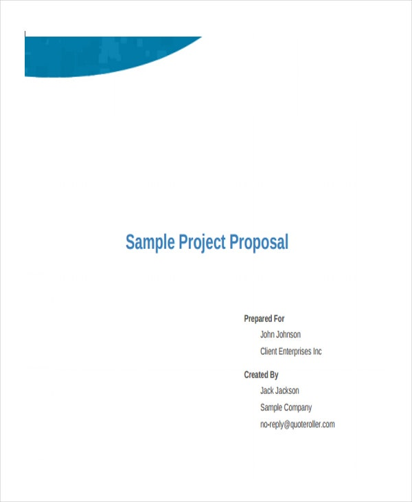 proposal for business project