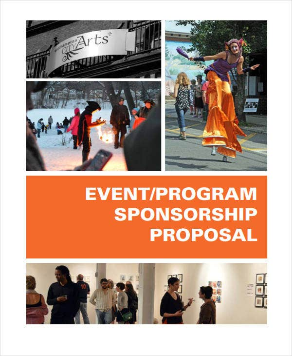 proposal for event program sponsorship