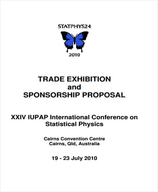 proposal for exhibition sponsorship