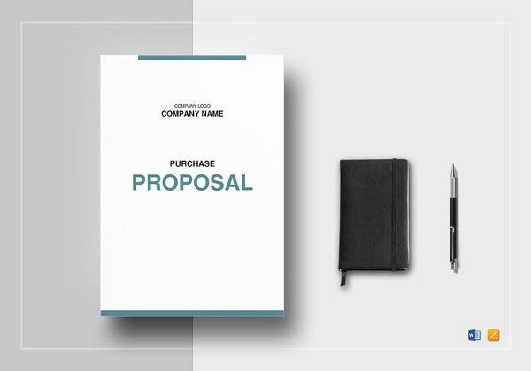 Purchase Proposal Word Template  Purchase Proposal Template