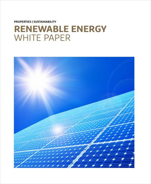 renewable energy white paper1