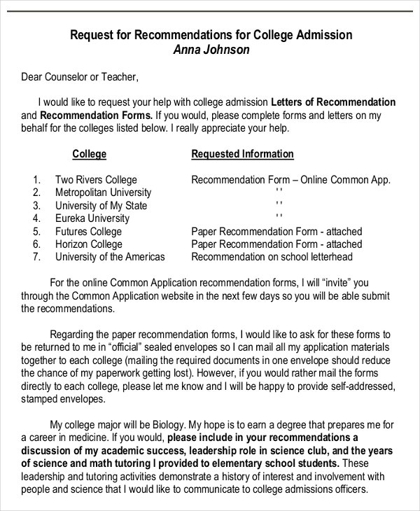 request letter for college recommendation1