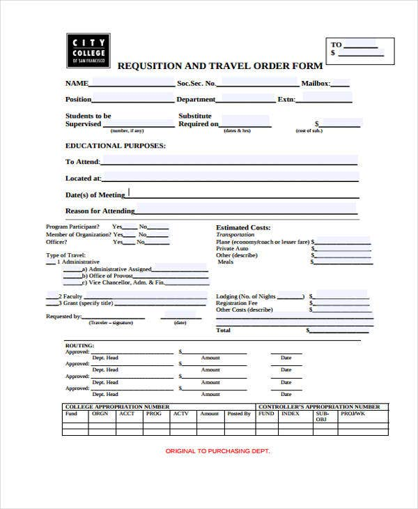 requsition travel order1