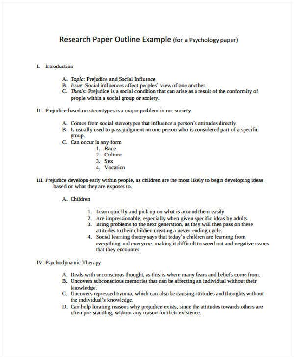 research paper outline instructions Below are examples of research paper outlines creating an outline is the first thing you should do before starting on your research paper.