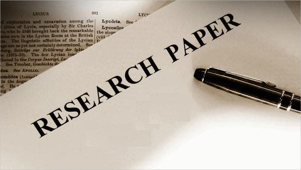 research paper samples