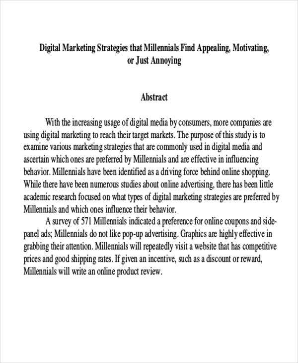 Research papers in services marketing