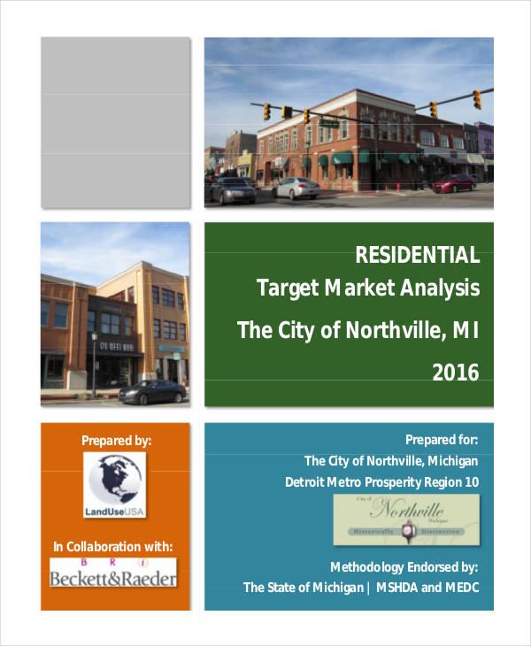 residential target market analysis