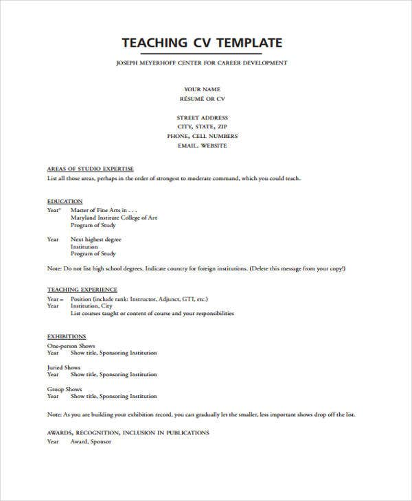 Show Resume Format  Resume Format And Resume Maker