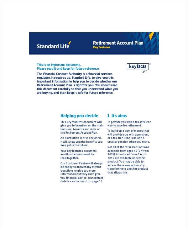 retirment development plan