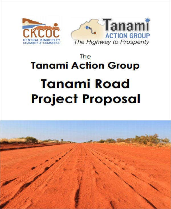 road construction project project proposal