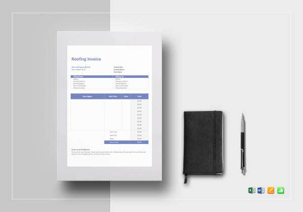roofing-invoice-template