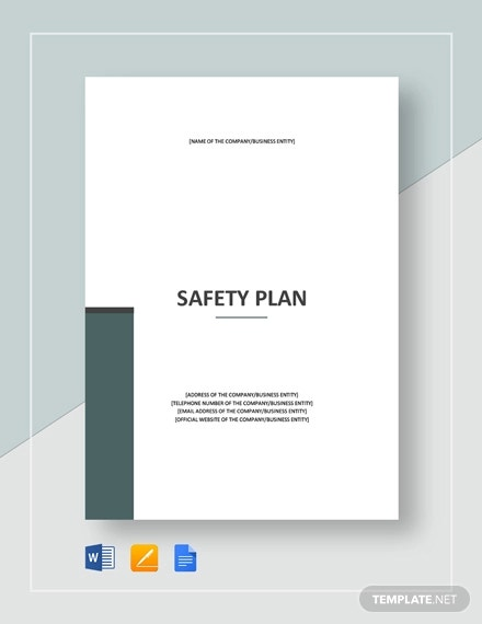 safety plan template