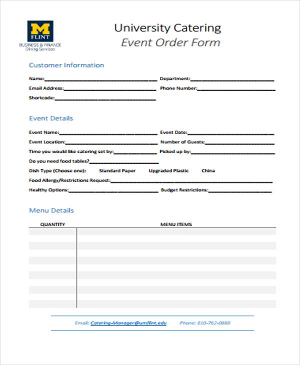 sample event order1