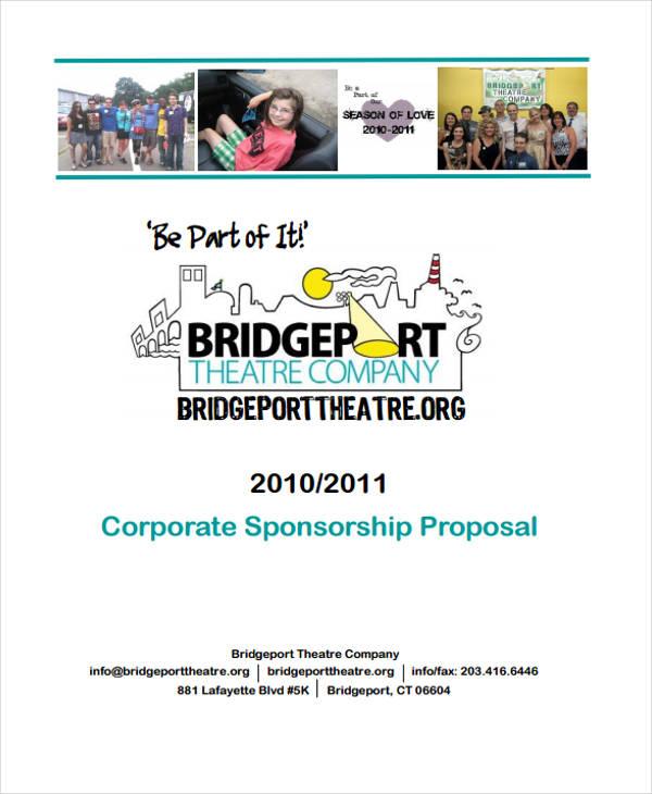 corporate sponsorship proposal sponsorship proposal template art resume skills proposal for. Black Bedroom Furniture Sets. Home Design Ideas