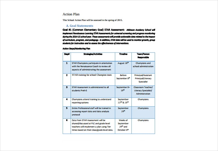 school action plan1