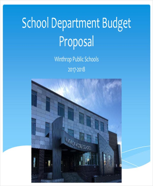 school department budget