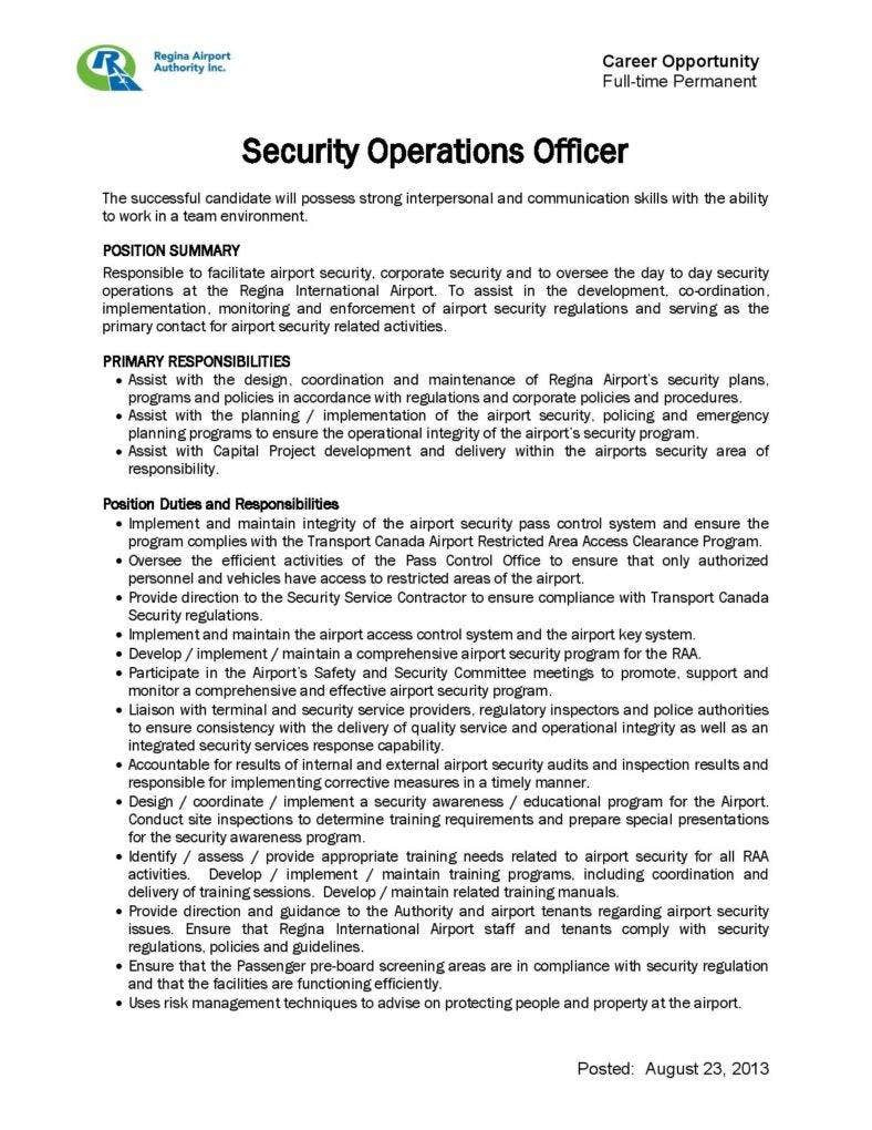 security operations officer job description free pdf format download page 001 788x1020